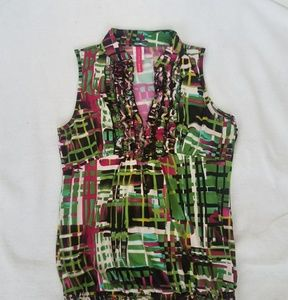 Heart Soul Multi color and graphics tank top